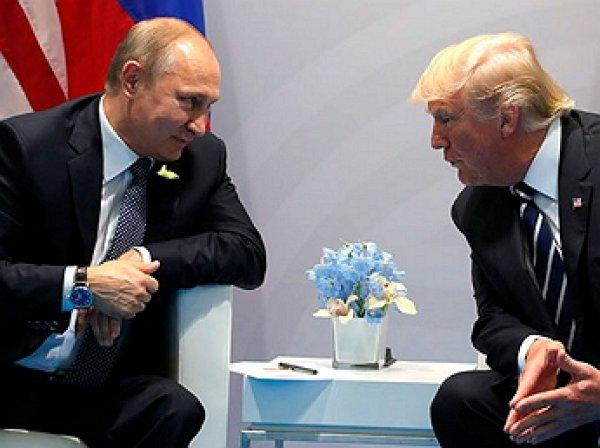Путин провел телефонный разговор с Трампом по пандемии коронавируса