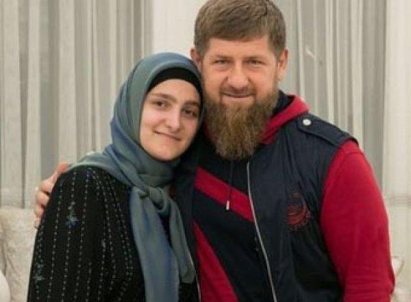 Кадыров выдал дочери медаль за заслуги перед Чечней