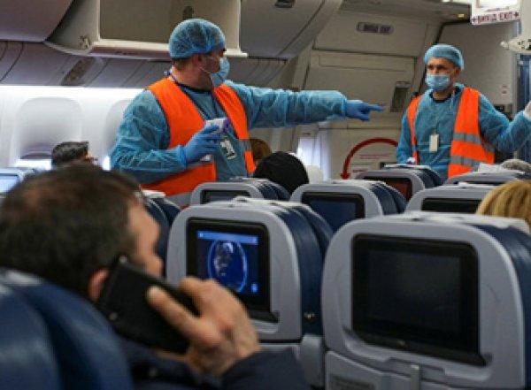 Россия закроет авиасообщение с Италией, ФРГ, Францией и Испанией из-за коронавируса