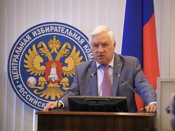 Глава Мосгоризбиркома Валентин Горбунов ушел в отставку