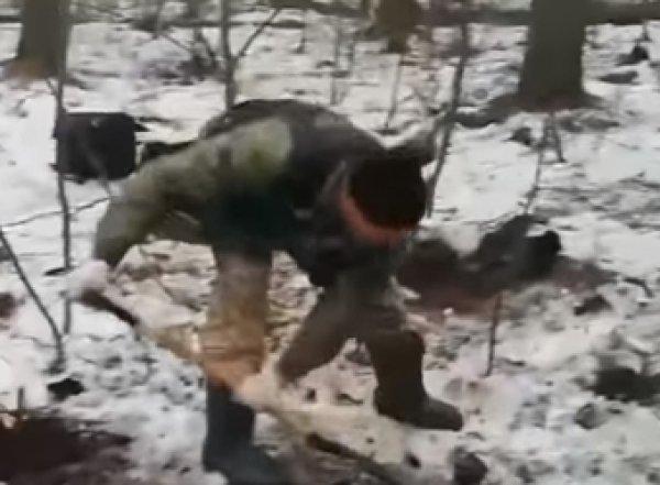 Видео обнаружения останков подруги фигурантов дела «Сети» появилось в Сети