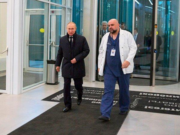 Главврач больницы в Коммунарке на встрече с Путиным призвал готовиться к итальянскому сценарию пандемии