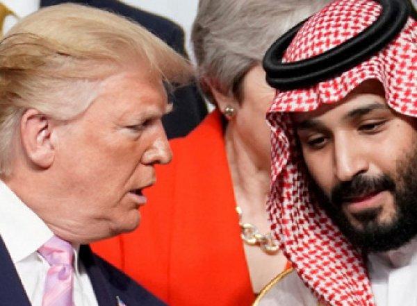 Трамп попросил саудитов потеснить Россию на рынке нефти