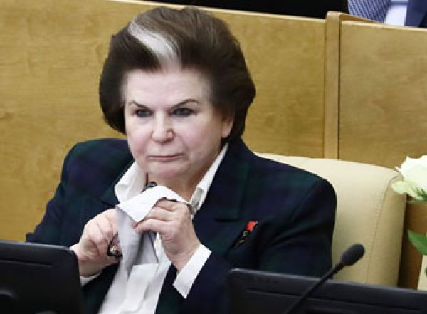 Терешкова предложила обнулить сроки президентских полномочий