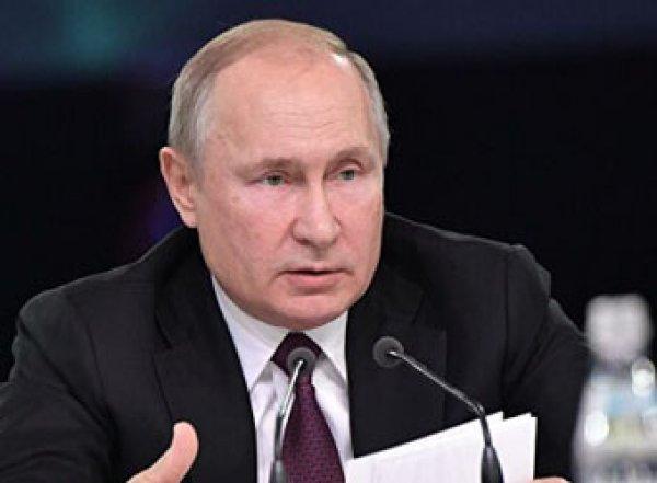 """""""Это чушь"""": Путин оценил слова Зеленского об Освенциме"""
