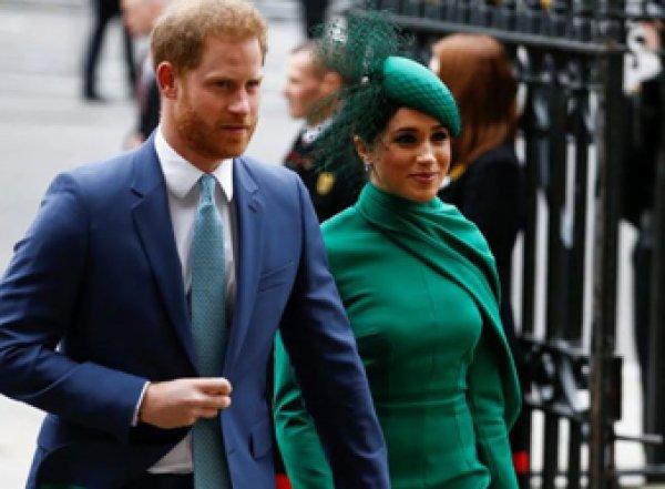 Принц Гарри и Мэган Маркл завершили королевское прощание (ВИДЕО)