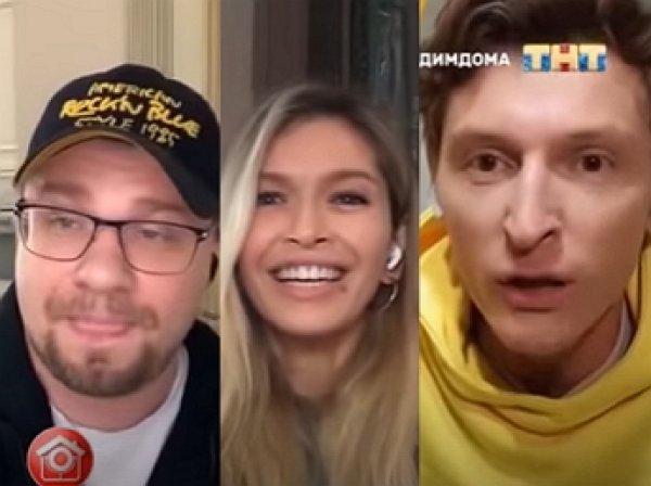 Харламов пресек странную выходку Брежневой во время эфира Comedy Club