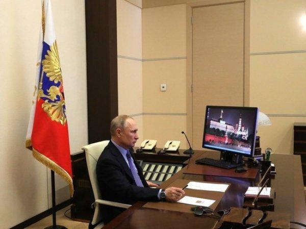 Путин перешел на удаленку после контакта с заболевшим COVID-19 главврачом больницы в Комунарке