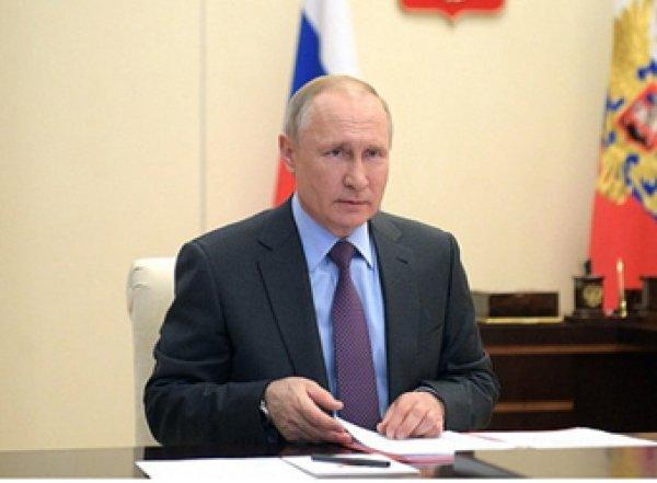 Путин: пик эпидемии в России еще не пройден