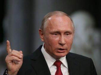 В Кремле рассказали о здоровье закашлявшегося Путина (ВИДЕО)