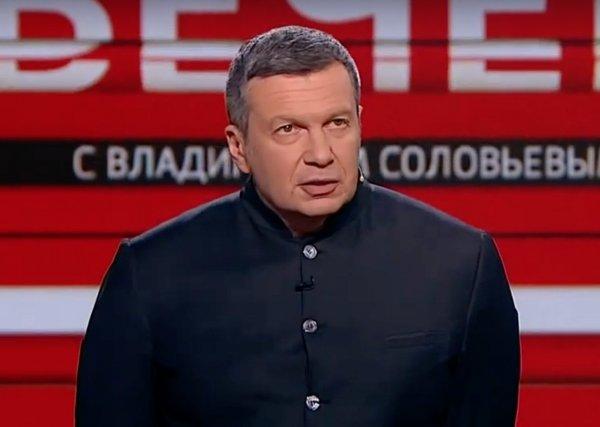 Соловьев раскритиковал россиян, которые жалуются на нехватку масок