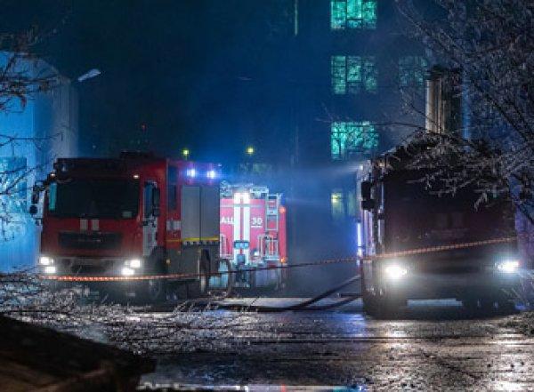 Пожар в московском доме престарелых: 4 погибших, 16 пострадавших (ВИДЕО)