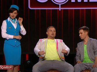 Мой кочан не посмотрите?: номер Comedy Club про авиакомпанию Победа взорвал Сеть (ВИДЕО)