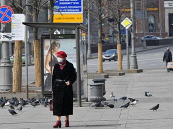 СМИ: режим самоизоляции в Москве могут продлить до конца апреля