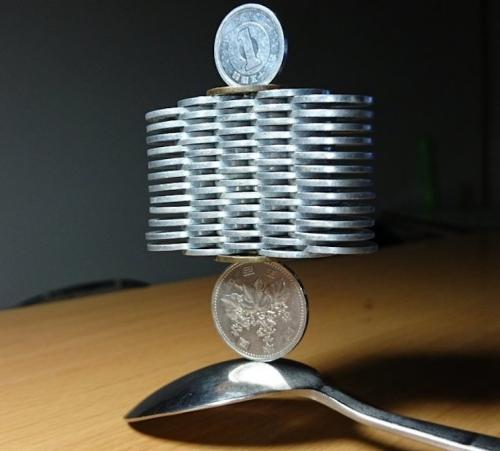 Нереальные конструкции из монет от японца Tanu