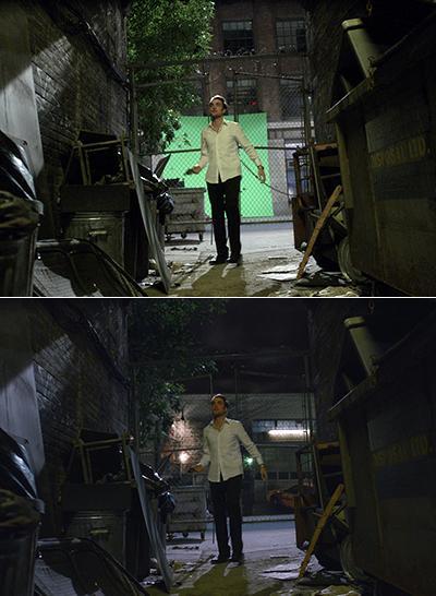 Знаменитые киносцены до наложения визуальных эффектов-3