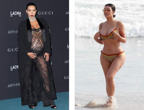 Как изменилась фигура знаменитых красавиц после родов