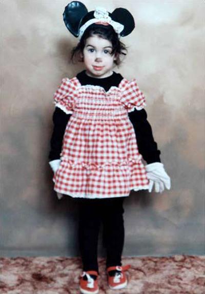 Детские фотографии Эми Уайнхаус