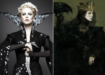 Черновые варианты известных персонажей