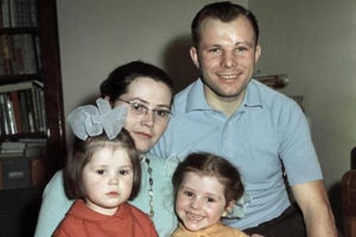 Земные семьи людей из космоса