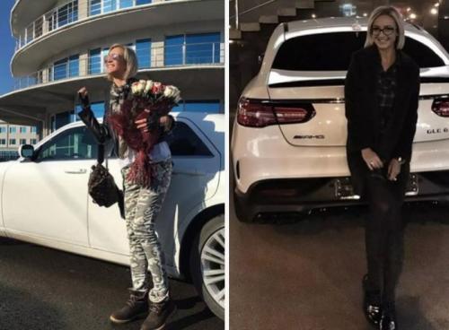 Автомобили, которые выбирают для себя звездные женщины России