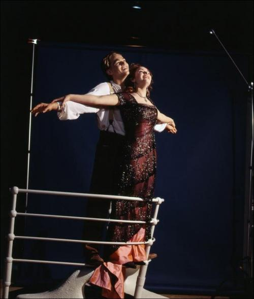 Как снимали «Титаник»: редкие фото со съёмок