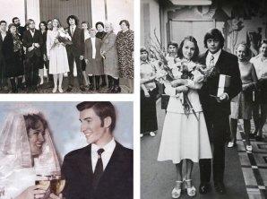 Редкие свадебные фото знаменитостей