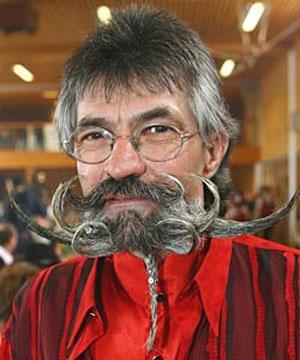 Чемпионат среди усатых и бородатых