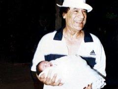 Фото из семейного альбома Каддафи, найденного в резиденции