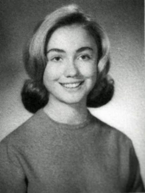 Как с годами менялась Хиллари Клинтон