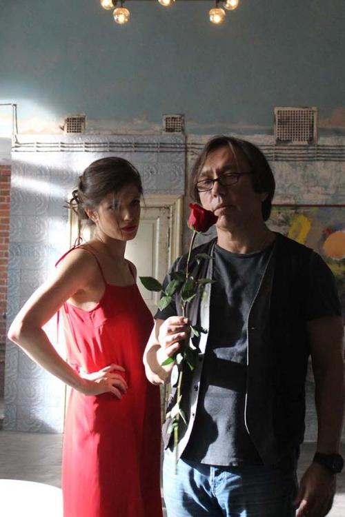 Аня Чиповская согласилась обнажиться ради рекламы чистого искусства
