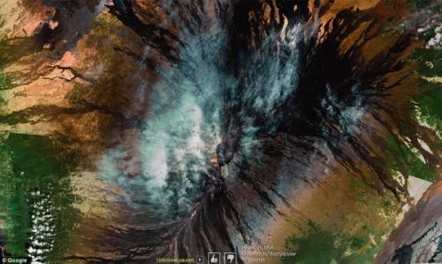Топ-10 удивительных снимков с Google Earth