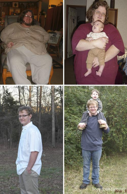 Терпение и труд все перетрут: до и после диеты и спорта