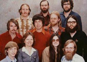 Что стало с первыми сотрудниками  Microsoft с фото 1978 года