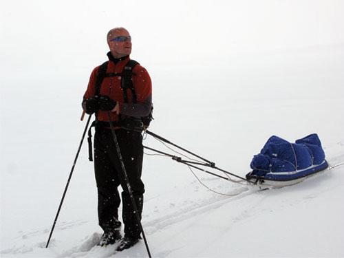 Южный Полюс Земли впервые покорил слепой