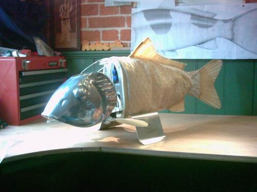 Рыба-робот не попадется на крючок