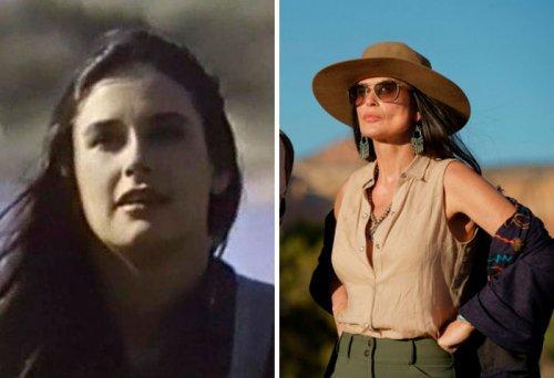 Актёры в своих первых и последних ролях
