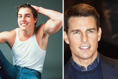 Знаменитости — какими они были в 90-е