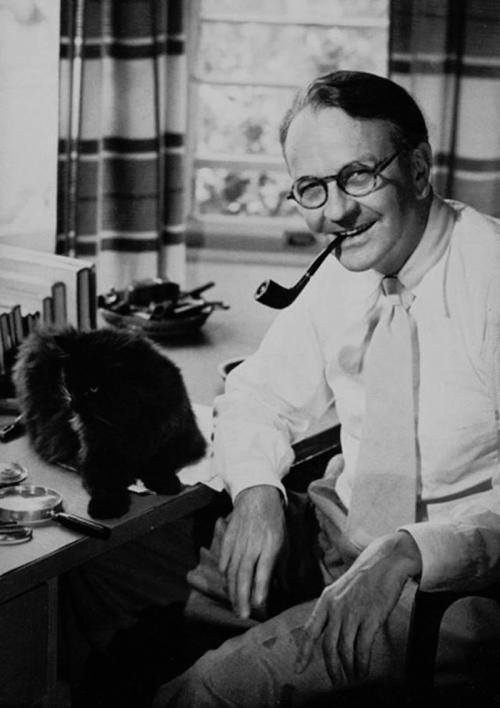 Знаменитые писатели и их коты