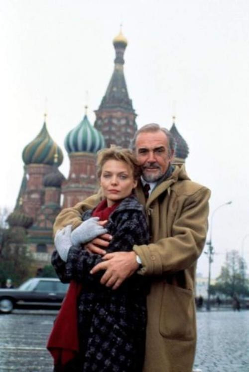 Редкие фото зарубежных знаменитостей в России
