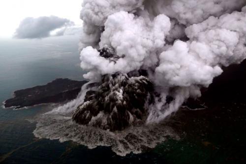 Извержения вулканов в 2019 году