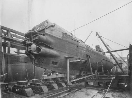 Жуткие интерьеры затонувшей подлодки времен первой мировой