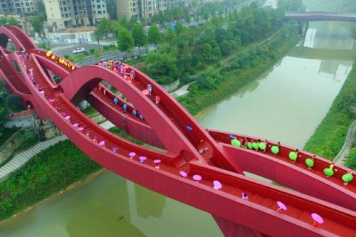 Самые необычные пешеходные мосты мира