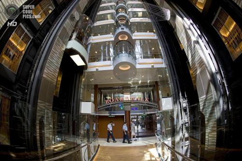 Корабль на 15 метров длиннее своего предшественника, пассажирского 13-палубного океанского лайнера «Queen Mary 2» (345 м), построенного в 2003 году, который до этого времени являлся крупнейшим круизным кораблём в мире.