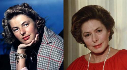 Ингрид Бергман Това, над което старостта е била безсилна. Или смъртта просто взе Ингрид Бергман, преди да видим ужасните черти на увяхването по лицето й. Във всеки случай, почти до последните дни на тази вече възраст актриса получи ролята на жените в любов.