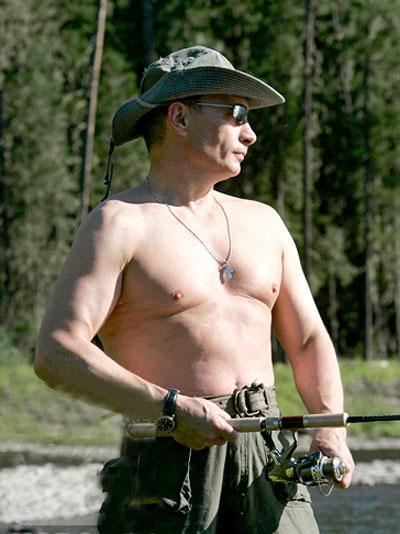 Путин покорил мир голым торсом