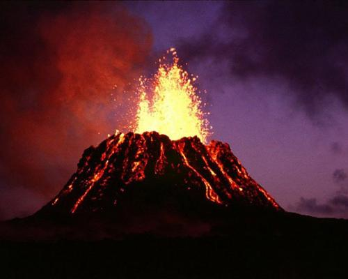 Вулканическая активность на Гавайях