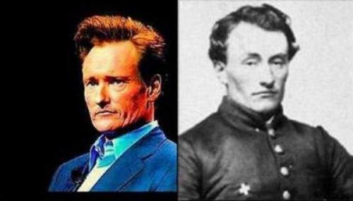 Мистика: фото двойников звезд из прошлого