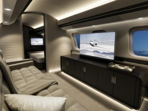 Самые роскошные частные самолеты в мире
