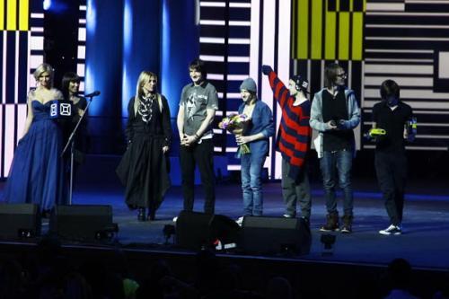 В Кремле  состоялась церемония вручения премии телеканала «MUSICBOX»